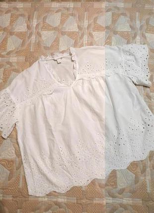 Блуза /рубашка из кружева/ прошвы