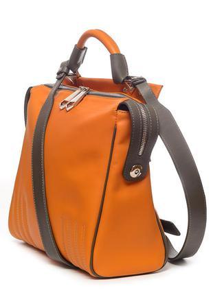 Модная женская кожаная сумка кросс-боди, очень мягкая итальянс...
