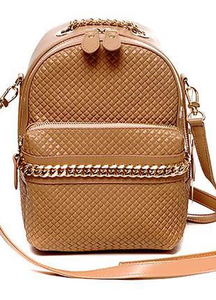 Модная женская кожаная сумка через плече (кросс-боди) в оригин...