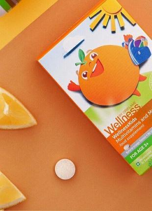 Мультивитамины и минералы для детей Wellness Oriflame
