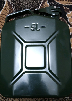 Канистра БЕЛАВТО KC05 5л металлическая