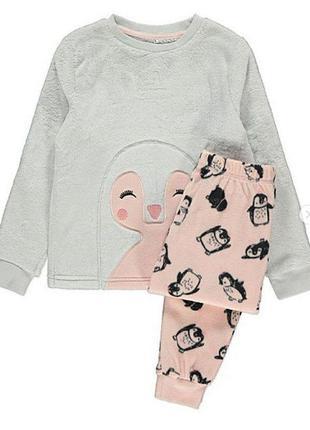 Теплая флисовая пижама george