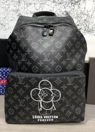 Стильный городской рюкзак backpack apollo monogram eclipse