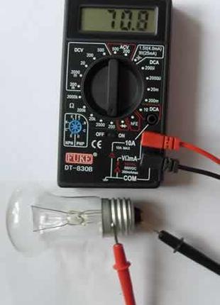 Цифровой мультиметр тестер DT-830В MS