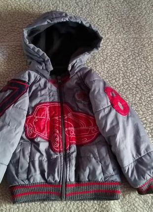 Распродажа 🔥 демисезонная куртка на флисе 3-4 года