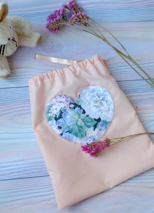 Мешок для хранения, для подарка, эко мешочек