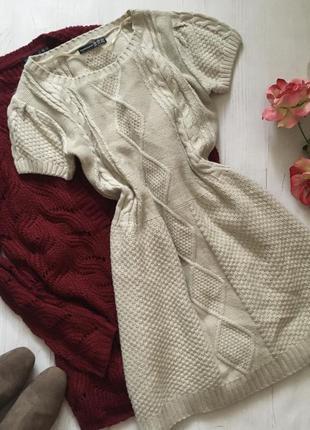 Вязаное платье(s/m)