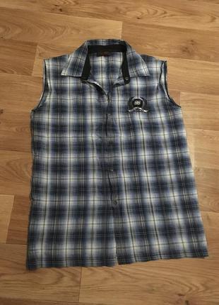 Mужская рубашка жилетка expoman рр l-xl
