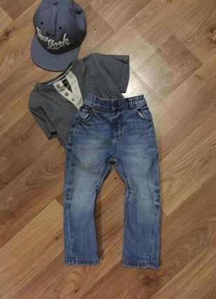 Стильные джинсы мальчику 1-2 лет