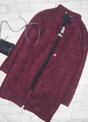 Финальная распродажа 28.01 !шикарное пальто тедди  , цвета мор...