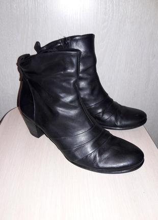 Кожаные ботинки 27.5 см.