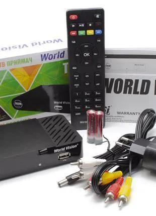 DVB-T2 тюнер (ресивер) World Vision T65M