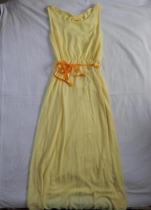 Летнее легкое длинное платье літнє легке довге плаття