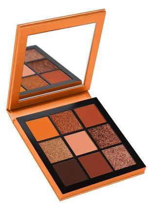 Палетка теней huda beauty topaz obsessions palette, 10 гр