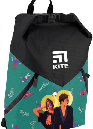 Рюкзак спортивный Kite Sport Время и Стекло 42.5x11.5x32 см 17 л