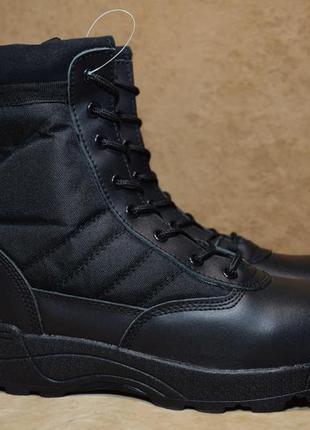 Ботинки берцы original swat classic 9 leather tactical. оригин...