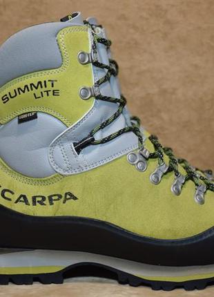 Ботинки трекинговые scarpa summit lite gtx gore-tex альпинизм....