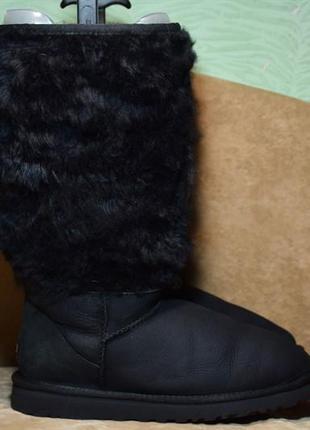 Угги ugg australia tall sheepskin cuff сапоги ботинки зимние о...