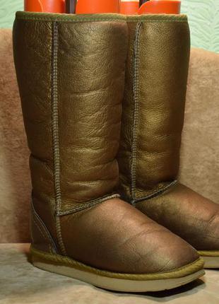 Угги koalabi australia metallic сапоги ботинки зимние овчина ц...