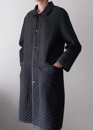 Черная женская куртка весенняя осенняя , женское пальто