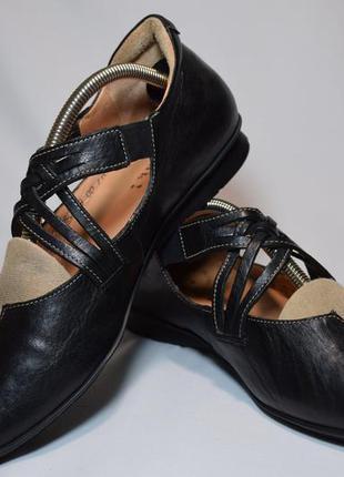 Кожаные балетки think! chilli туфли босоножки. оригинал. 41 р....
