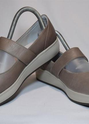 Туфли балетки joya женские кожаные. швейцария. оригинал. 38-39...