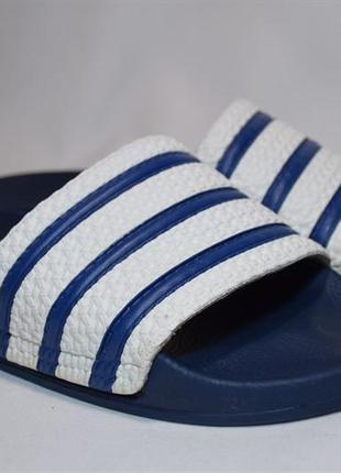Шлепанцы сланцы adidas originals slippers adilette. италия. 43 р.