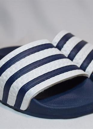 Шлепанцы сланцы adidas originals slippers adilette. италия. ор...