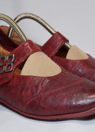 Кожаные балетки think chilli туфли босоножки. оригинал. 36 р./...