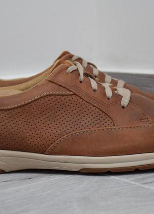 Туфли кроссовки clarks мужские кожаные. оригинал.