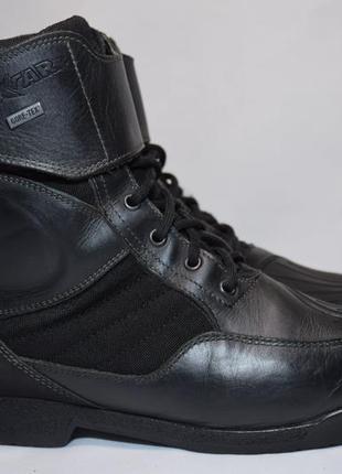 Мотоботы oxtar gtx gore-tex мото ботинки мужские кожаные. итал...