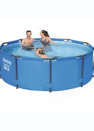 Каркасный бассейн Bestway 56984 - 0, 305 х 100 см (чаша, карка...