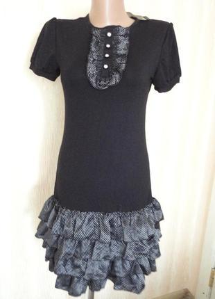 Платье р.s m l практичное нарядное и на каждый день