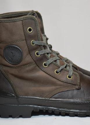 Ботинки peak performance / palladium высокие кожаные кеды. ори...