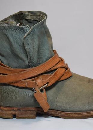 Ботинки сапоги a.s. 98 airstep женские кожаные. италия. оригин...