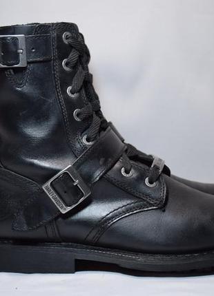 Ботинки harley davidson wide large мото мужские кожаные. ориги...