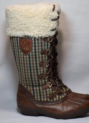 Угги ugg edmonton waterproof сапоги ботинки зимние овчина циге...