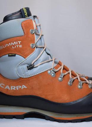 Ботинки трекинговые scarpa summit lite gtx gore-tex мужские ал...