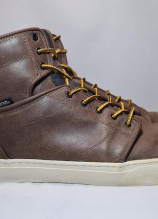 Ботинки vans otw alomar мужские кожаные высокие кеды. оригинал...