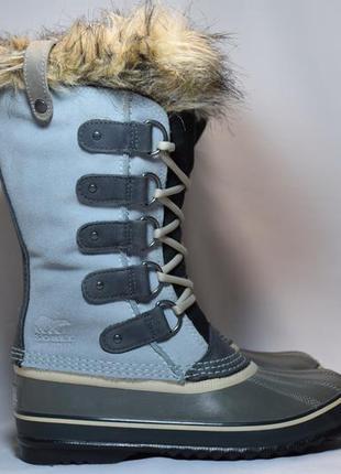 Термоботинки sorel joan of arctic waterproof ботинки сапоги зи...