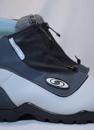 Ботинки лыжные salomon sns profil thinsulate insulation. румын...