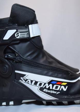 Ботинки лыжные salomon skiathlon jr sns pilot. румыния. оригин...