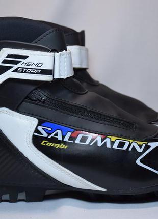 Ботинки лыжные salomon combi sns. марокко. оригинал. 39 р./24....