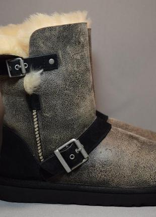 Угги ugg short dylyn 1001202 сапоги ботинки зимние овчина циге...