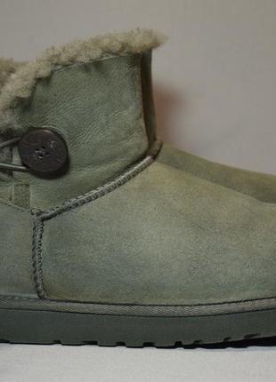 Угги ugg australia mini bailey button bling ботинки зимние овч...