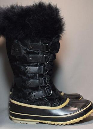Термоботинки sorel joan of arctic 1587-010 waterproof ботинки ...