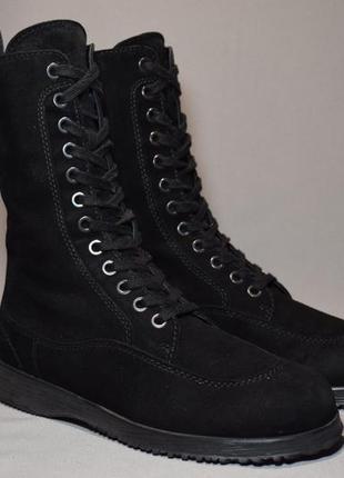 Ботинки hogan женские кожаные. италия. оригинал. 36-37 р./24.5...