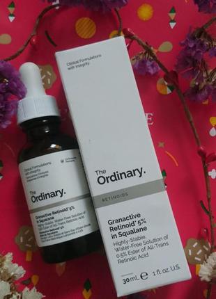 Масляная сыворотка ретиноид 5% the ordinary granactive retinoi...