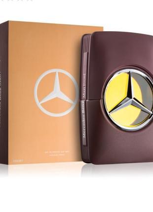 Mercedes-benz man private парфюмированная вода для мужчин 100 мл