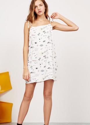 Платье, сарафан в модный принт от bershka